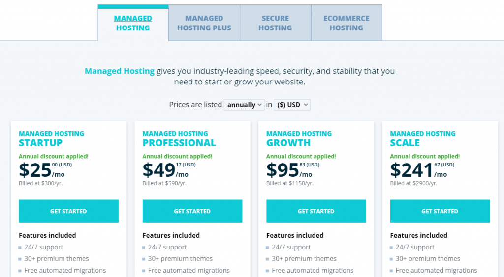 WP Engine Pricing